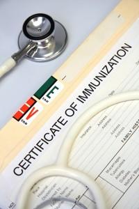 Immunization Certificate 1
